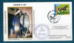 ESPACE - ARIANE Vol Du 1999/11 V123 - CNES - 1 Enveloppe Satellite GE4 - Europa