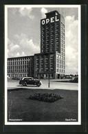 AK Rüsselsheim, Blick Auf Den Opel-Turm - PKW