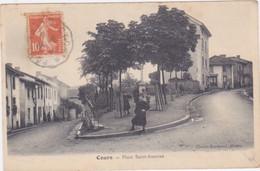 Place Saint Antoine - Cours-la-Ville
