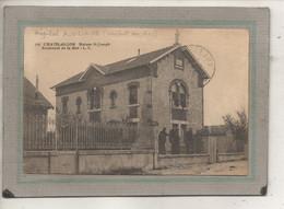 CPA -(17) CHÂTELAILLON - Mots Clés: Hôpital Auxiliaire N° 54, Complémentaire, Croix Rouge, Militaire, Temporaire En 1918 - Châtelaillon-Plage