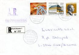 LUXEMBOURG. N°1290 De 1994 Sur Enveloppe Ayant Circulé. L'Europe Et Les Découvertes. - Europa-CEPT