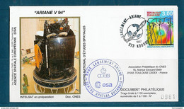 ESPACE - ARIANE Vol Du 1997/03 V94 - CNES - Satellite INTTELSAT - Europa