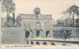 LILLE FL 32 Légende Gothique Porte Saint Maurice TBE - Lille