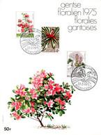 18175006 BE 19750222 Gent; Floralies Gantoises, Plantes Fleuries; Fllet Cob1749-51 - Feuillets