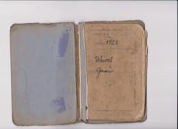 LIVRET MILITAIRE SOLDAT DOMICILE à ETROEUNGT (NORD) 1922 - 1914-18
