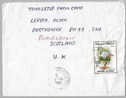 16 - Enveloppe Du MAROC 17.10.1989 Pour ECOSSE - Morocco (1956-...)