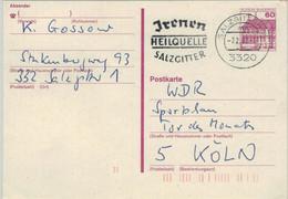 Irenen Heilquelle 1983 Salzgitter Ganzsache 3320 - Hydrotherapy