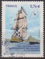 Débarquement à L'Ile Maurice - FRANCE - Navire: Le Chasseur - N° 4979 - 2015 - Oblitérés