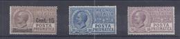Italien - Selt./postfr. Rohrpostwerte Aus 1924/26 - Aus Michel 173/253! - Non Classificati