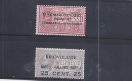 Italien - Selt./ungebr. Luftpostwerte Aus 1917 - Michel 126/27! - Non Classificati