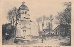 52 - Eglise Du XII° Siècle Avec Petite Animation De RIMAUCOURT - Voir, Carte Au Départ De Cirey Les Mareilles - France