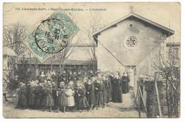 17-MORNAC-SUR-SEUDRE-L'Orphelinat...1905  Animé  (petit Défaut) - Other Municipalities