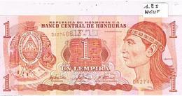 HONDURAS   BILLET  NEUF  DE  1 LEMPIRA  N°D A 2746613           BI52 - Honduras
