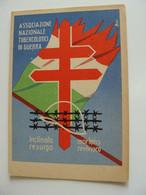 ASSOCIAZIONE  TUBERCOLOTICI DI GUERRA ANTG  GRAFICHE   FAVIA  BARI   ROMA   MILITARE   NON  VIAGGIATA COME DA FOTO - War 1914-18