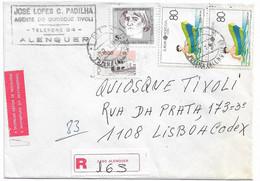 Portugal , 1989 , Europa CEPT , Azores , Toys , Barco De Lata , Triana Alenquer Postmark , 2580 Alenquer Label - Europa-CEPT