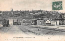 DOMFRONT - Vue Générale - La Gare - Domfront