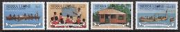Sierra Leone 1986  Set Of Stamps Issued To Celebrate International Peace Year. - Sierra Leone (1961-...)