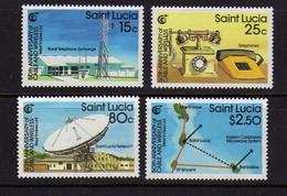 Sainte-Lucie  -  Telecommunications  - Neufs** - St.Lucia (1979-...)