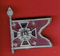 INSIGNE ALLEMAND 1940  DRAPEAU DU REGIMENT NEBELTRUPPE OU WERFERTRUPPE POUR LA GUERRE CHIMIQUE GUERRE 1939 1945 WWII - 1939-45