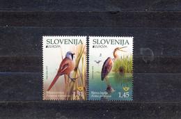 SLOVENIA - MNH - BIRDS - EUROPA CEPT 2019. - MI.NO.1367/8 - CV = 5,5 € - 2019