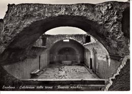 Italie Campania Campanie Ercolano Calidarium Delle Terme Reparto Maschile Therme Bain Histoire Patrimoine - Ercolano