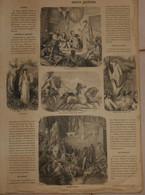 Tableau De L'Histoire De France. Moeurs Gauloises. Début XIXe - Historical Documents