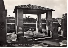 Italie Campania Campanie Ercolano Pergula Della Casa Dei Cervi Maison Histoire Patrimoine Edifice - Ercolano