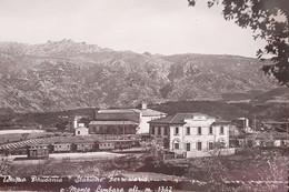 Cartolina - Tempio Pausania - Stazione Ferroviaria E Monte Limbara - 1952 - Sassari