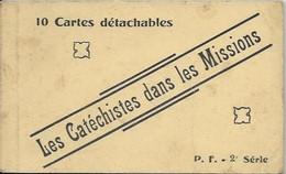 Les Catéchistes Dans Les Missions, Carnet De 10 Cartes - Missions