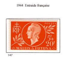 Ex Colonie Française  *  Wallis & Futuna  *  Poste  147 N** - Neufs