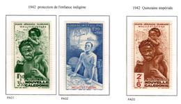 Ex Colonie Française  *  Wallis & Futuna  *  Poste  Aérienne  Série Complète  PA 1/3  N** - Neufs