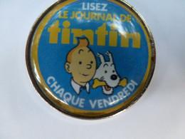Pin's Pins Bd Tintin LE JOURNAL DE TINTIN - BD