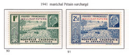 Ex Colonie Française  *  Wallis & Futuna  *  Poste  Série Complète  90/91  N** - Neufs