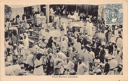 ZANZIBAR - Fruit Market - Publ. A. C. Gomes & Co. - Tansania