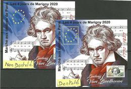 Blocs Marigny 2020  Ludwig  VAN BEETHOVEN - Neufs