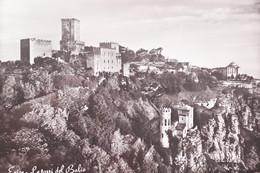 Cartolina - Erice - Le Torri Del Balio - 1966 - Trapani