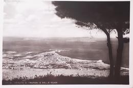 Cartolina - Erice - Veduta Di Trapani E Delle Egadi - 1966 - Trapani