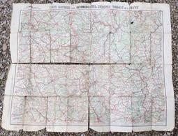 Carte Routière Pour Automobilistes Et Cyclistes Nord Est De La France, Taride ( état ) - Callejero