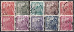 ESPAÑA 1948-1954 Nº 1024/32 USADO (REF. 01) - 1931-50 Usati