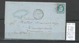 France  - GC 3382 - SEPPOIS LE BOIS - Type 22 - 1867 - Haut Rhin - 1849-1876: Periodo Clásico