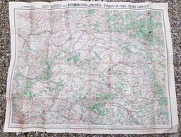 Carte Routière Pour Automobilistes Et Cyclistes Environs De Paris Section Nord Est De La France, Taride - Callejero