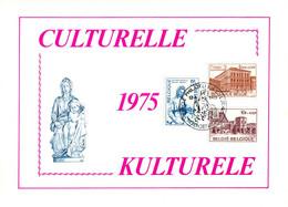 18175032 BE 19750412 Genappe; Culturelle, Venise, Abb. St-Bavon à Gent, Vierge Et Enfant à Brugge; Fllet Cob1759-61 - Feuillets