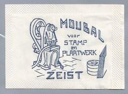 NL.- Puttershoek. Kristalsuiker. ZEIST. MOUBAL VOOR STAMP EN PLAATWERK. - Zucker