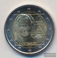 Italy 2020 Stgl./unzirkuliert Reprint: 3 Million. 2020 2 Euro Maria Montessori - Italie