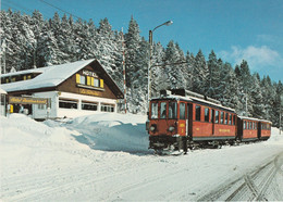 N°5495 R -cpsm La Givrine St Cergue - Trenes