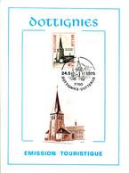 18175061 BE 19750524 Dottignies; Eglise St-Léger à Dottignies; Fllet Cob1772 - Feuillets