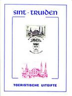18175062 BE 19750524 Sint-Truiden; Grand Place, Eglise Notre-Dame ; Fllet Cob1773 - Feuillets