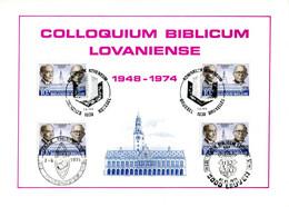18175071 BE 19750607; Colloquium Biblicum Lovaniense, Université Leuven; Fllet 4 ◙blit. Cob1774 - Feuillets