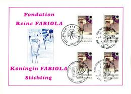 18175077 BE 19750614; Fondation Reine Fabiola, Santé Mentale, Armoiries; Fllet 4 ◙blit. Cob1775 - Feuillets