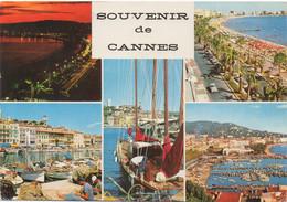Cannes : Multi-vues (Voyagé 1967) - Cannes